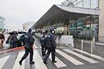 Бельгийские полицейские в аэропорту Завентем, архивное фото