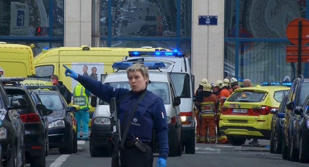 Ситуация в Брюсселе по терактов
