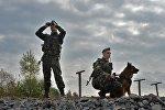 Белорусские пограничники. Архивное фото