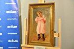 Картина Льва Бакста Девочка в розовом.