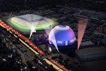 Глобус Арена (Стокгольм) готовится принять Евровидение-2016