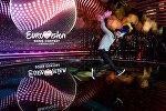 Победитель Евровидения 2015 Монс Зелмерлев (Швеция)