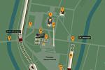 Схема мемориального комплекса «Брестская крепость-герой»