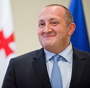 Прэзідэнт Грузіі Георг Маргвелашвілі