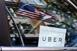 Автомобиль такси Uber в США