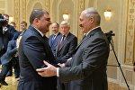 Губернатор Орловской области Вадим Потомский (слева) и президент РБ Александр Лукашенко