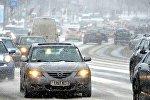 Снег і завея ў Мінску