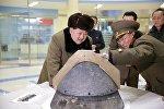 Ким Чен Ын на испытаниях баллистической ракеты