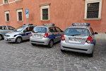 Автомобили польской полиции. Архивное фото