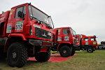 Гоночные грузовики команды МАЗ-СПОРТавто