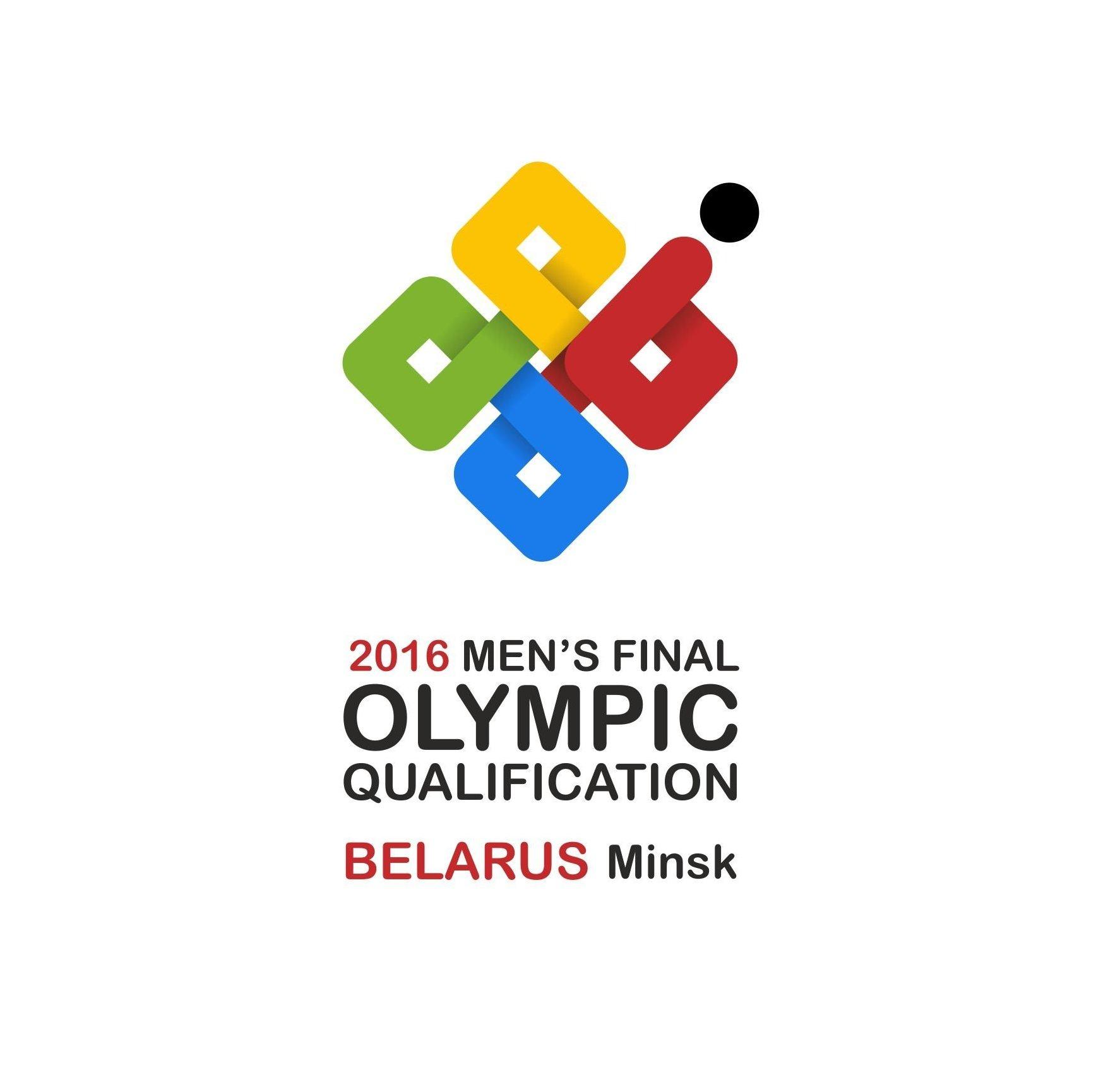 Логотип финальной олимпийской квалификации по хоккею
