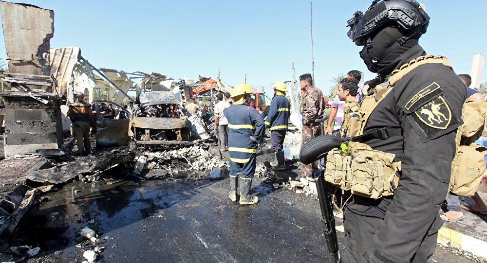 Взрыв вцентре Багдада: 1 погибший, 9 раненых