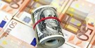 Евро и доллары
