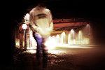 Подросток на ночной улице