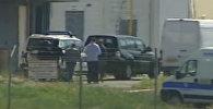 СПУТНИК_Кадры задержания захватчика египетского самолета А320 в аэропорту Ларнаки