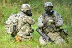 Военнослужащие НАТО на учениях