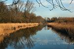 Река весной