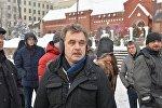 Анатолий Лебедько на акции солидарности с ИП