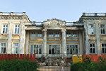 Палац князёў Друцкіх-Любецкіх у Шчучыне падчас рэстаўрацыі