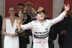 Победитель Гран-при Монако Нико Росберг
