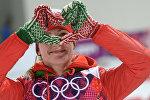 Дарья Домрачева на XXII зимних Олимпийских играх в Сочи