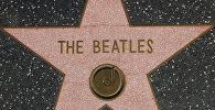 Звезда The Beatles  на Аллее звезд