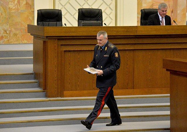Министр внутренних дел Беларуси Игорь Шуневич