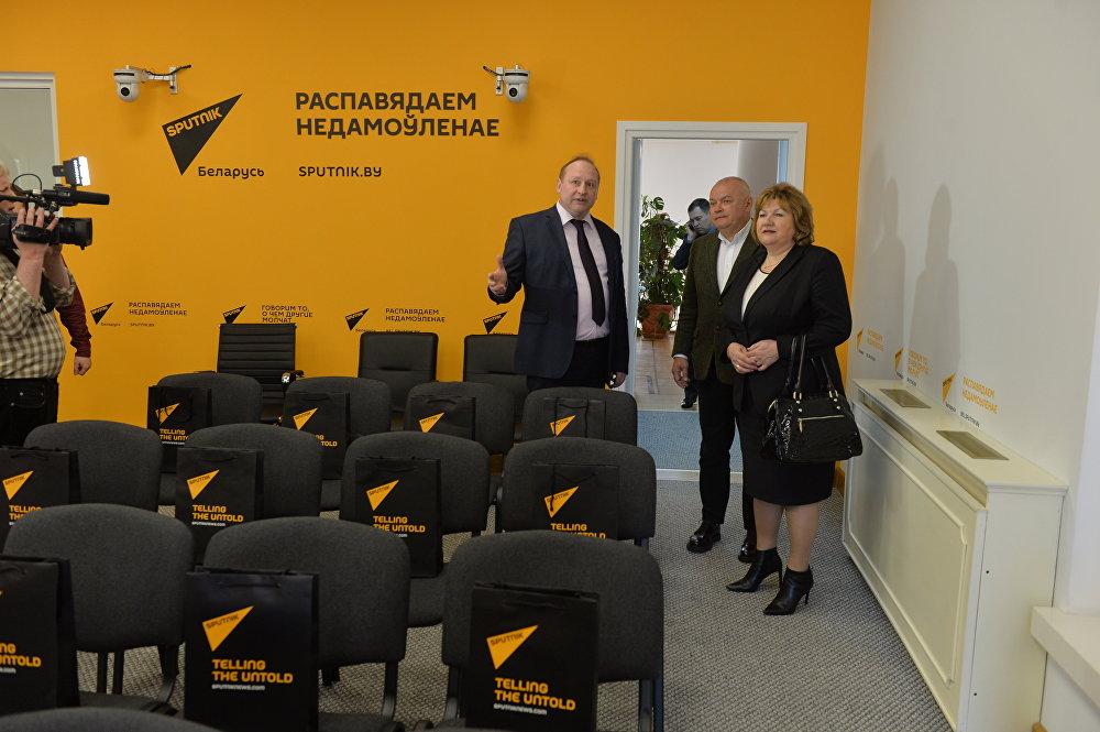 Пресс-центр Sputnik Беларусь
