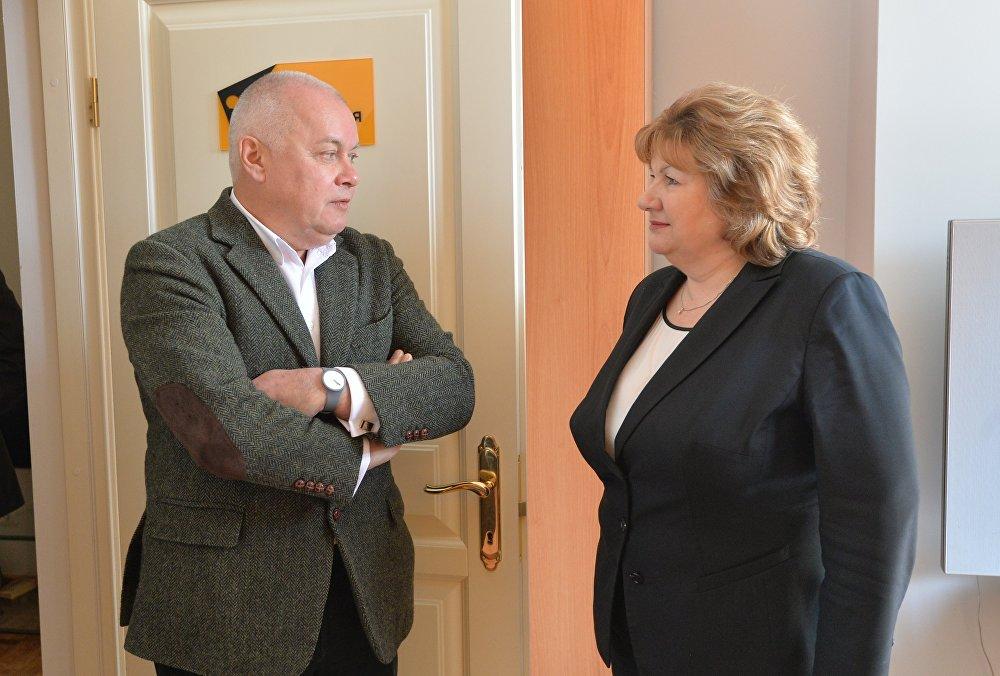 Дмитрий Киселев и Лилия Ананич