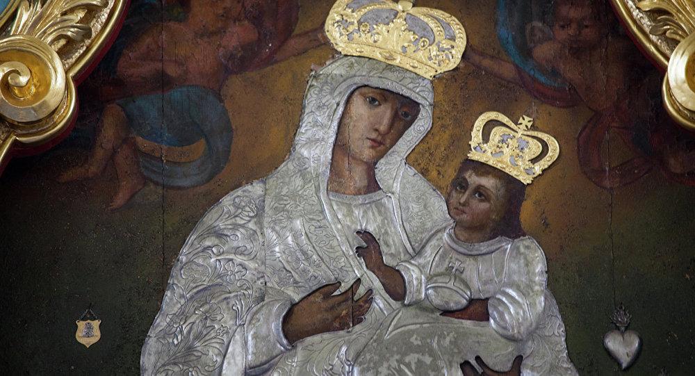 Чудотворная икона Вишневской Божьей Матери