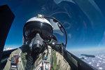 Пилот истребителя Су-30 ВКС РФ