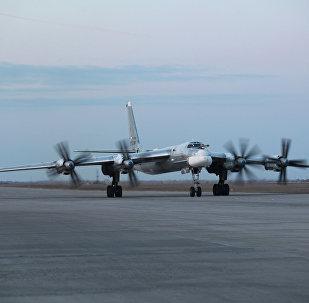 Турбовинтовой стратегический бомбардировщик-ракетоносец Ту-95МС
