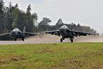 Самолеты Су-25 белорусских ВВС
