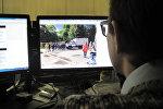 Фото задержания несанкционированного пикета белорусских фанатов