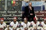 Главный тренер сборной Беларуси по хоккею Дэйв Льюис