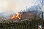 Пожар в Новогрудском районе