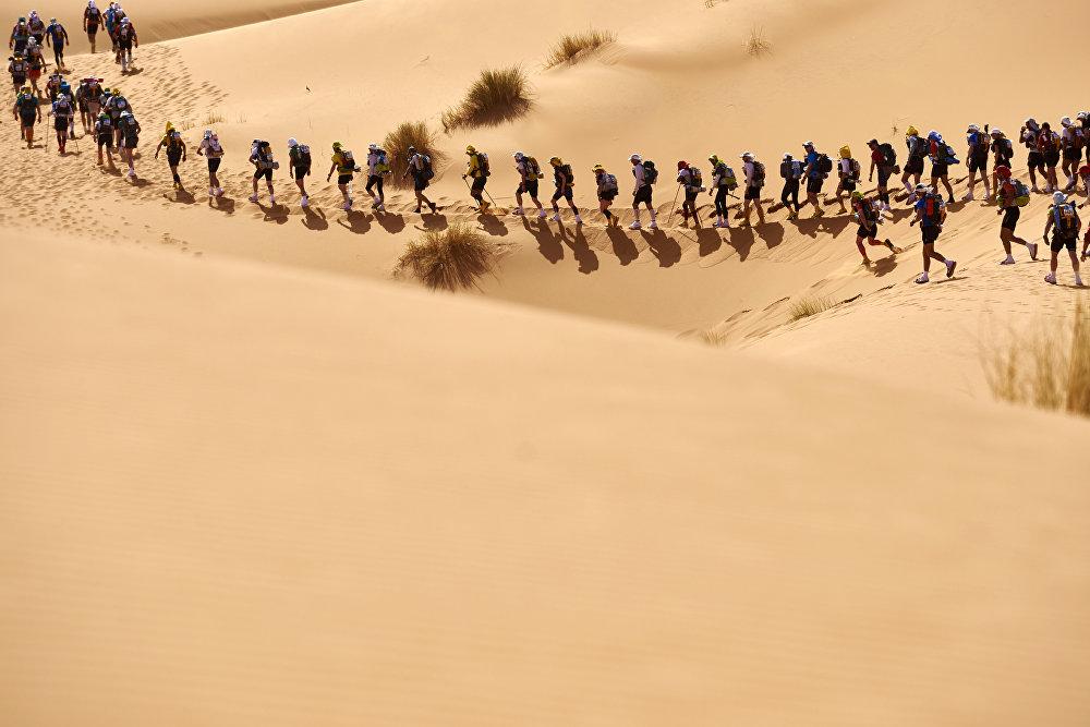 Пяшчаны марафон у Марока