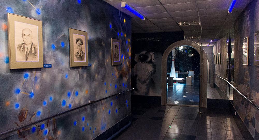 Музей космонавтики в Томашовской средней школе