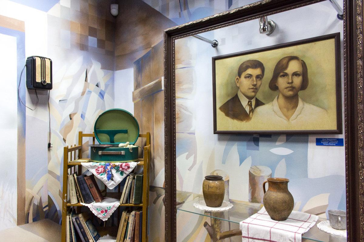 Портрет родителей Марфы Павловны и Ильи Федоровича Климук