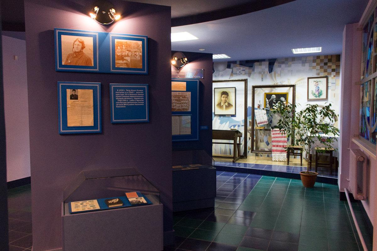 Залы музея космонавтики