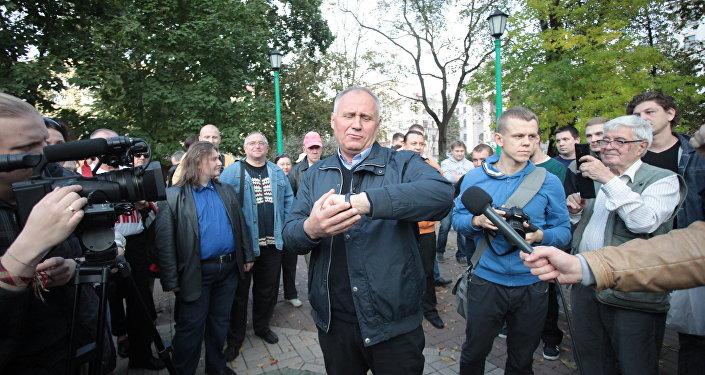 ВМинске схвачен оппозиционный политик Владимир Некляев