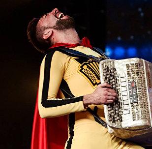 Виталий Воронко на шоу Britain's Got Talent