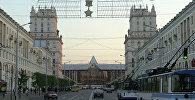 Чыгуначны вакзал у Мінску