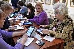 Спецпроект Обучение планшетной грамоте для людей старшего возраста в Москве