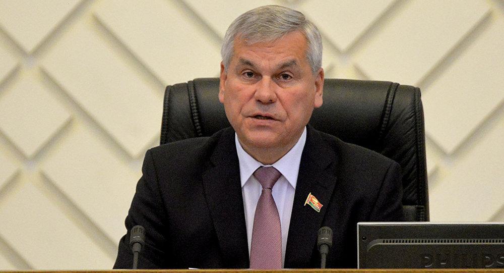 Владимир Андрейченко встретился с особым координатором ОБСЕ напарламентских выборах вРеспублике Беларусь