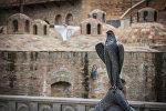Серные бани в Тбилиси.