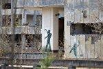 В эвакуированном после аварии на ЧАЭС городе Припять