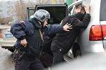 Работа вневедомственной охраны московской полиции