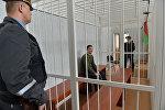 Обвиняемый Тарас Аватаров в начале судебного заседания