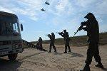 Совместные учения Коллективных сил оперативного реагирования (КСОР) ОДКБ